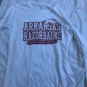 Arkansas Razorback long sleeve